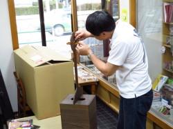 三味線用 桐製立て箱