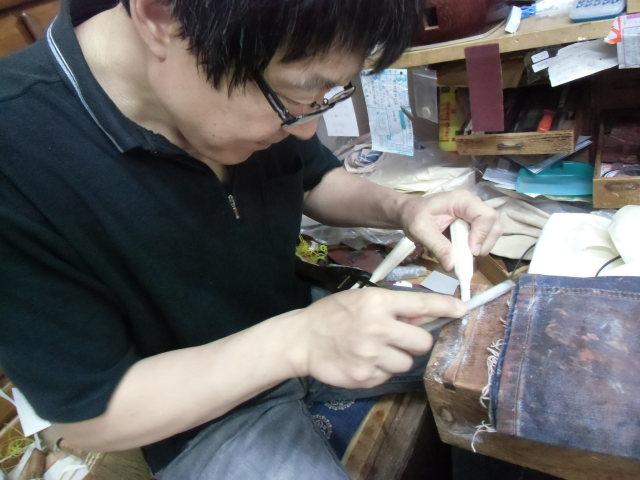 三味線修理 糸巻き調整